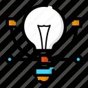 creative, design, idea, thinking icon