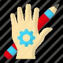 creative, design, hands on, thinking