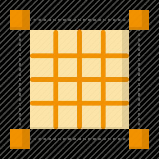 design, graphic, pixel grid, thinking icon