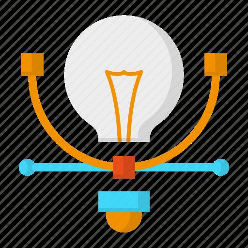 creative, design, graphic, idea, thinking icon