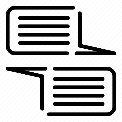 chat, client, design, thinking icon