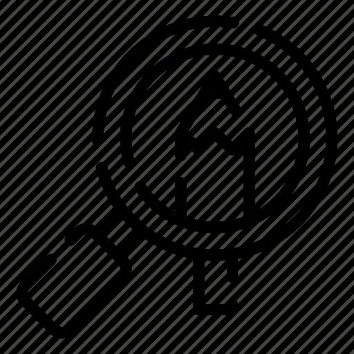 creative, design, detail, thinking, zoom icon