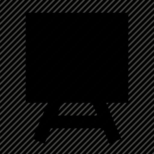Art, board, chalkboard, easel, whiteboard icon - Download on Iconfinder