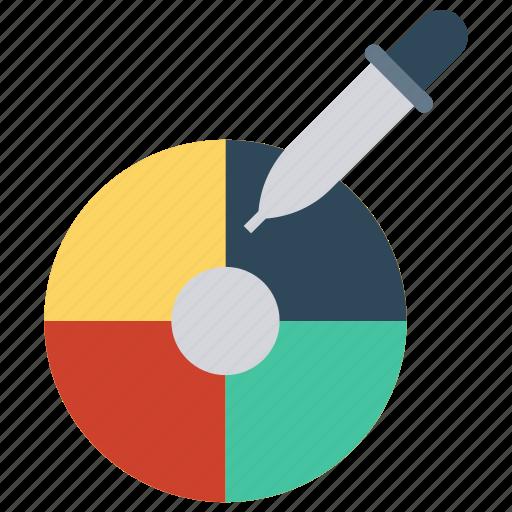 color, design, paint, palette, picker icon