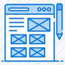 web designing, web layout, web mockup, web template, wireframe