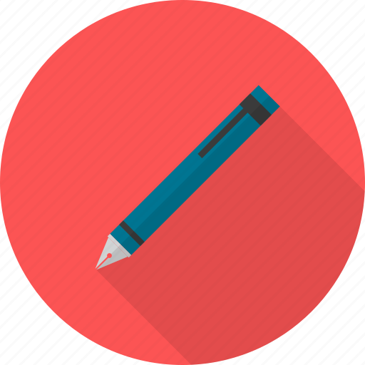 design, fountain, pen icon