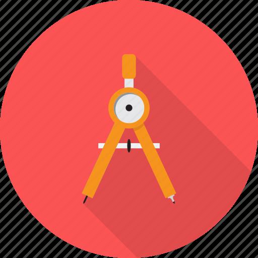 compasses, design, pair icon