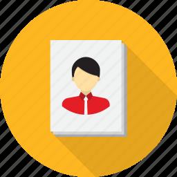 design, drawing, portrait icon