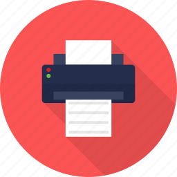 design, printer icon