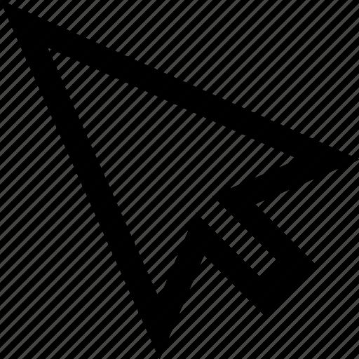 arrow, computer, cursor, mouse icon