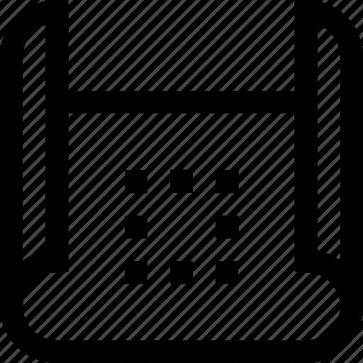 design, graphics, mock up, plan, resize, sketch icon