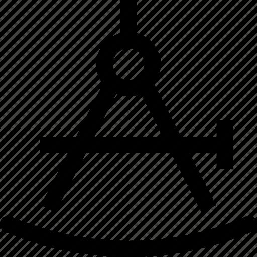 calculate, compasses, design, draw, graphics, precission icon