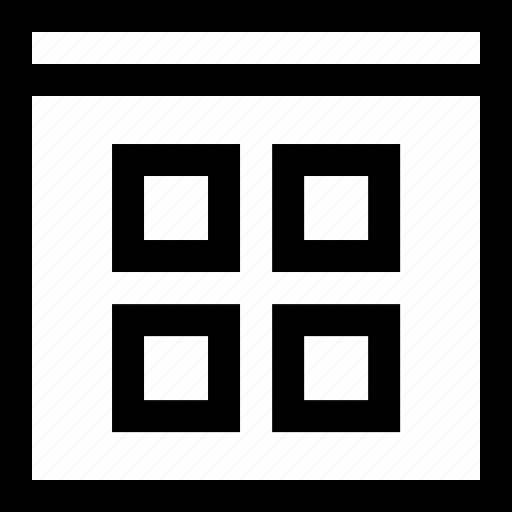 graphics design, layout icon