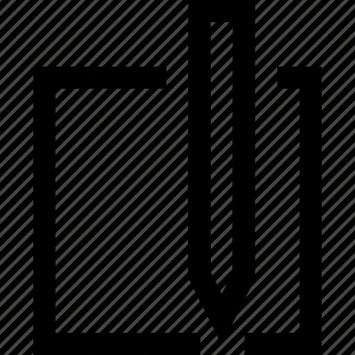 design, draw, graphics, square icon