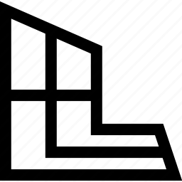 design, graphics, perspective icon