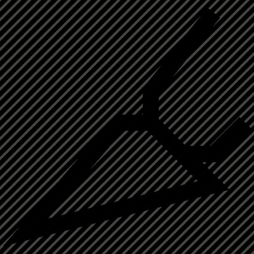 cut, design, graphics icon