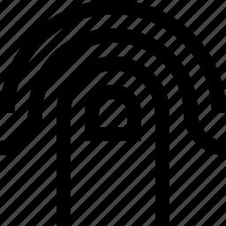 blure, design, finger, finger paint, graphics, smudge icon