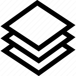 design, graphics, layers icon