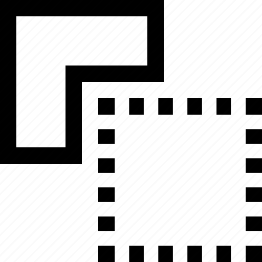 front, graphics design, minus, path finder, shape icon