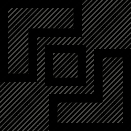 design, divide, graphics, path finder icon