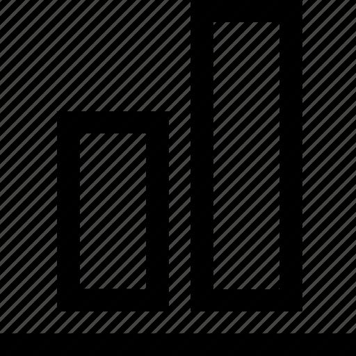 align, buttom, design, graphics icon
