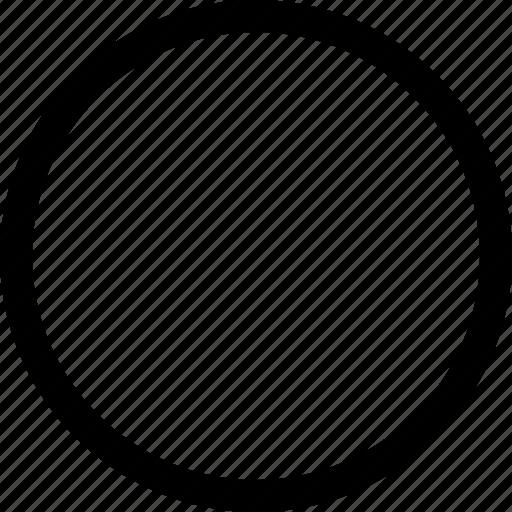 circule, round, sphere, three dimensional icon