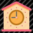 clock, design, home, time icon