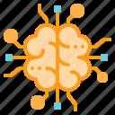 brain, brainstorm, creativity, idea, think icon