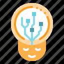 creativity, idea, people, think icon