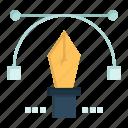 education, pen, pencil, text icon