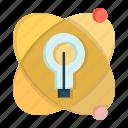 atom, bulb, education, nuclear