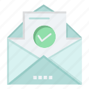 education, email, envelope, mail icon