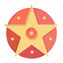 pentacle, project, satanic, star icon