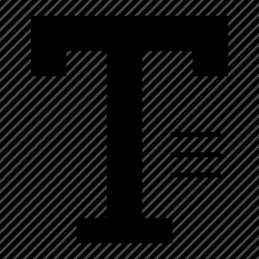 text, type, word, write icon