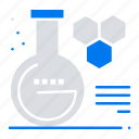 chemistry, education, lab icon