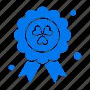 award, ireland, madel icon