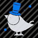 bird, fly, pet, sparrow icon
