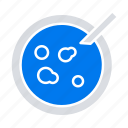 analysis, dish, medical, petri icon