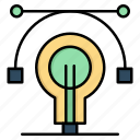 bulb, educat, education, idea icon