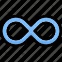innovation, design, thinking, infinity, loop, eternity, creative icon
