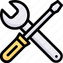 creative, design, innovation, preference, repair, thinking, tools icon