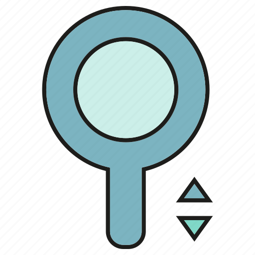 magnifier, tool, view, zoom icon
