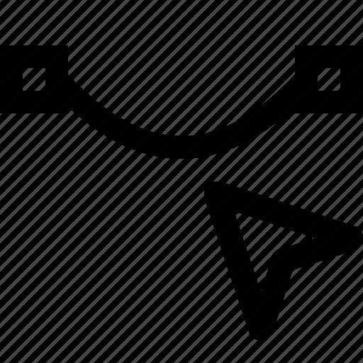curve, design, line, path, select, selection icon