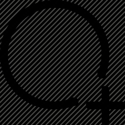 add, circle, design, plus, select, selection, tool icon