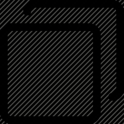arrange, copy, design, duplicate, front, task, tool icon