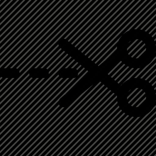 cut, design, scissor, tool icon