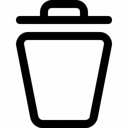 bin, delete, design, tool, trash icon