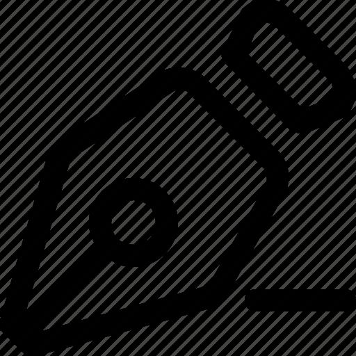 design, minus, pen, remove, tool, write icon