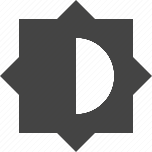 contrast, design, graphic, interface icon