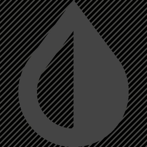 design, drop, graphic, half, interface icon